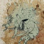 Serigrafia Omino con testa esplosiva Mrfijodor 17 su 40