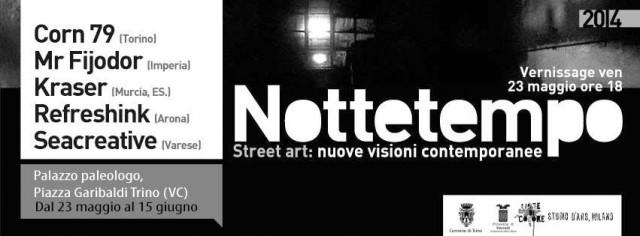 NOTTETEMPO – Street Art: nuove visioni contemporanee