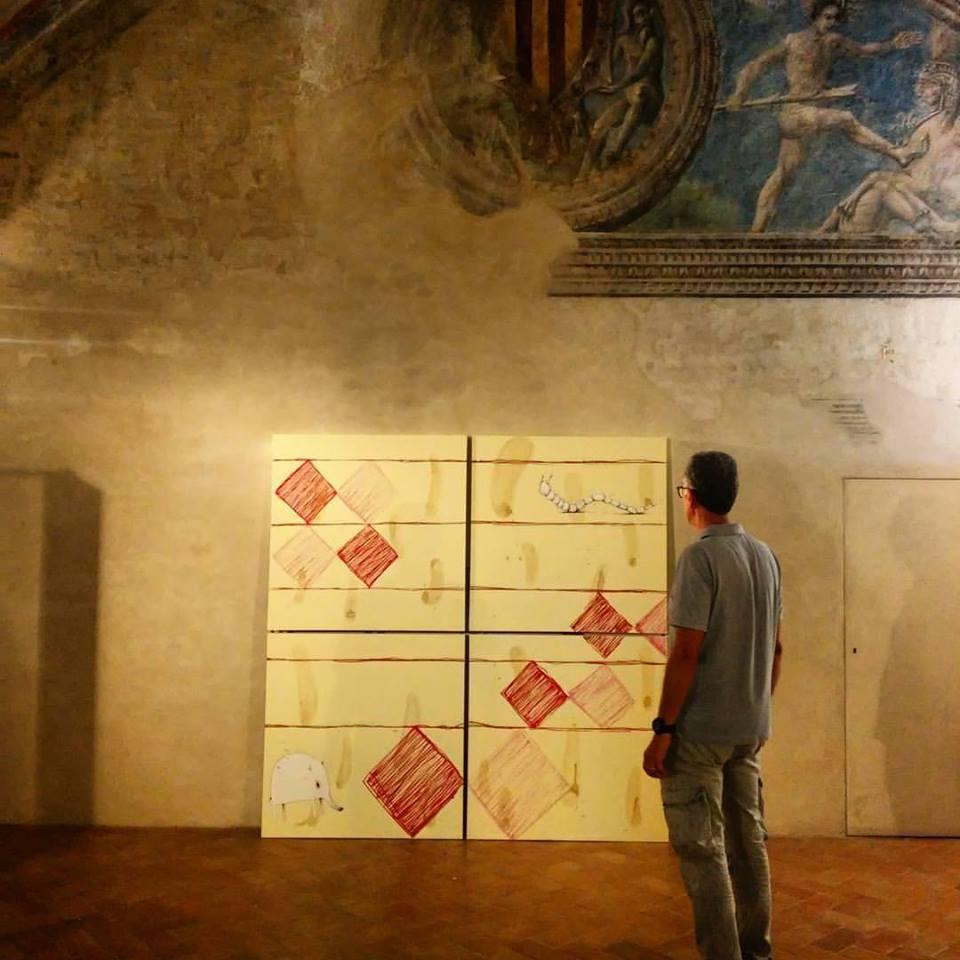 """""""Trame e Colori. Intrecci tra Arte e Maglieria"""" – Palazzo dei Pio @ Carpi (MO)."""