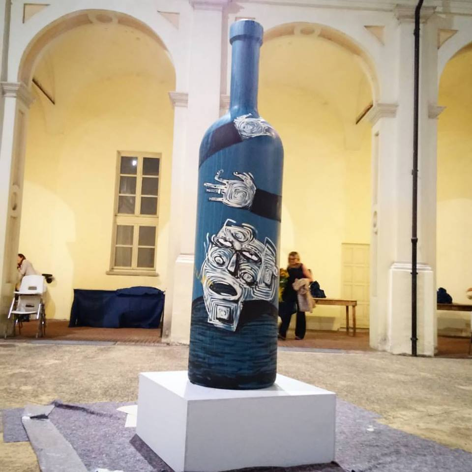 Bottiglie d'Artista – Chiostro Palazzo Del Michelerio @ Asti